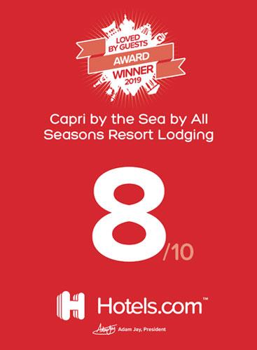 Hotels dot Com Award
