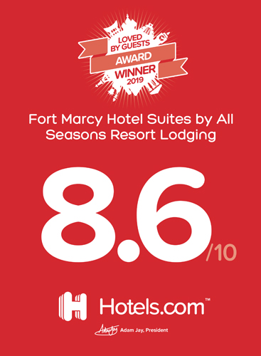 Fort Marcy Hotel Suites Award