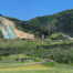 Panoramic view of Utah Olympic Park in Park City during summer