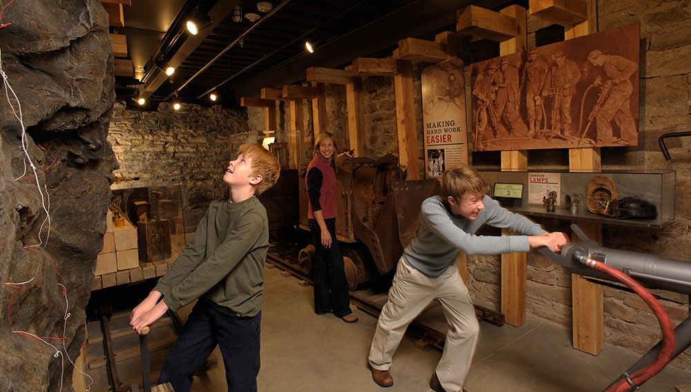 Kids Playing in a Museum