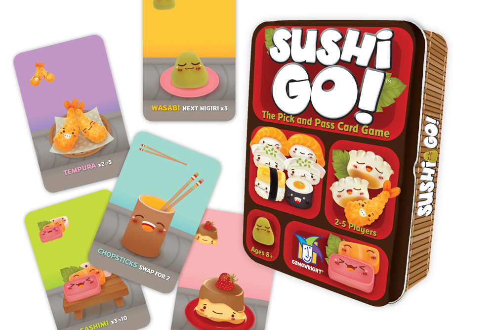 Sushi Go Card Game