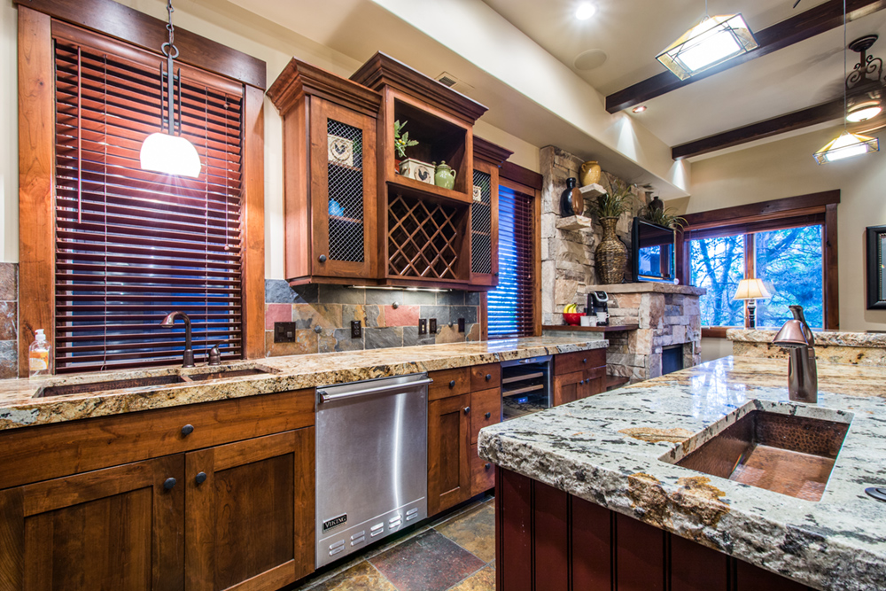 Kitchen at Private Vacation Home in Park City Utah