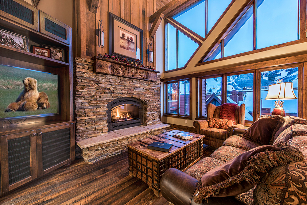 Interior of Penthouse Suite at the Lodge at the Mountain Village in Park City Utah