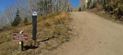 part of the wasatch crest trail