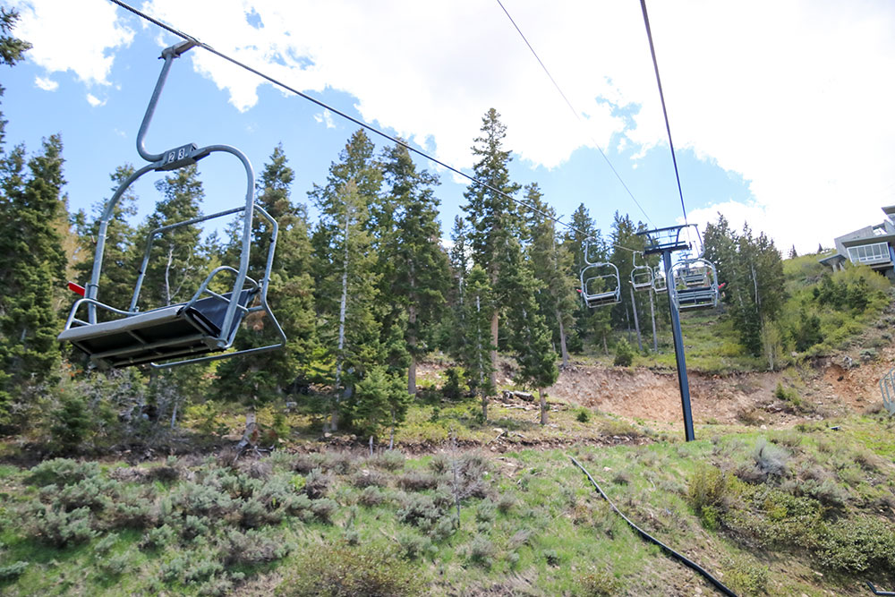 Scenic Chairlift Rides at Utah Olympic Park