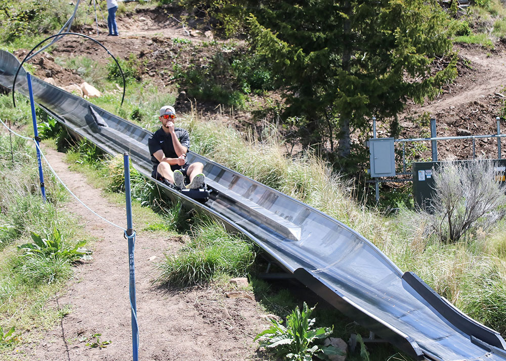 Alpine Coaster at Utah Olympic Park