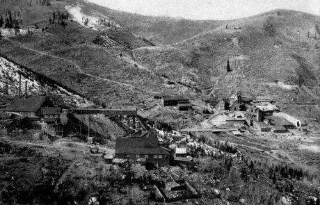 Archival shot of Ontario Mine in Park City