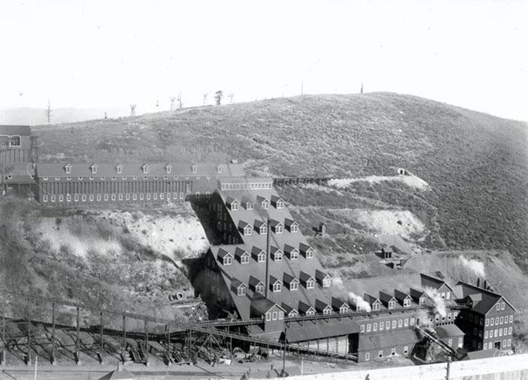 Archival image of Silver King Mine
