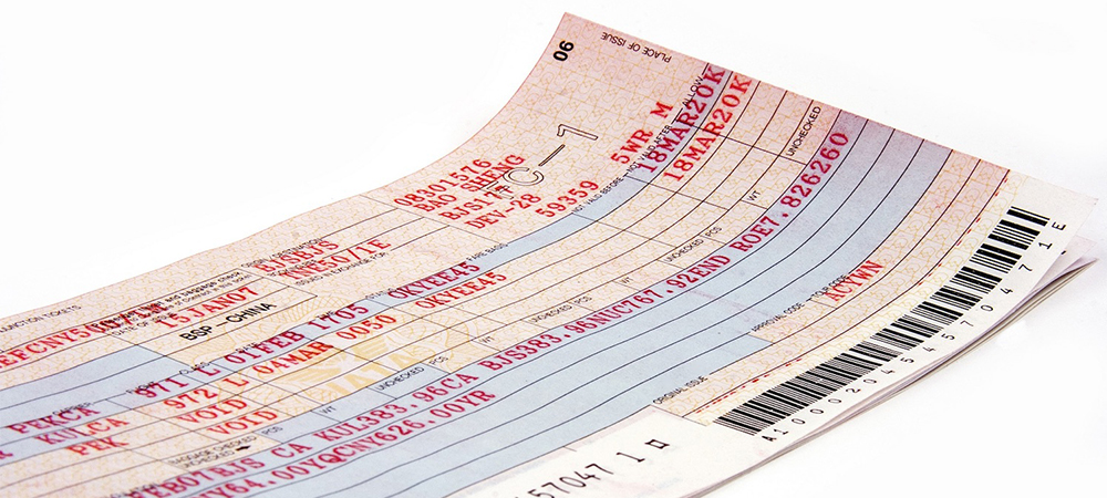 Photo of Travel Booking Ticket