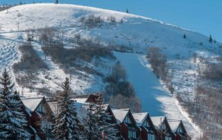Ski Hill at the Lodge at the Mountain Village in Park City