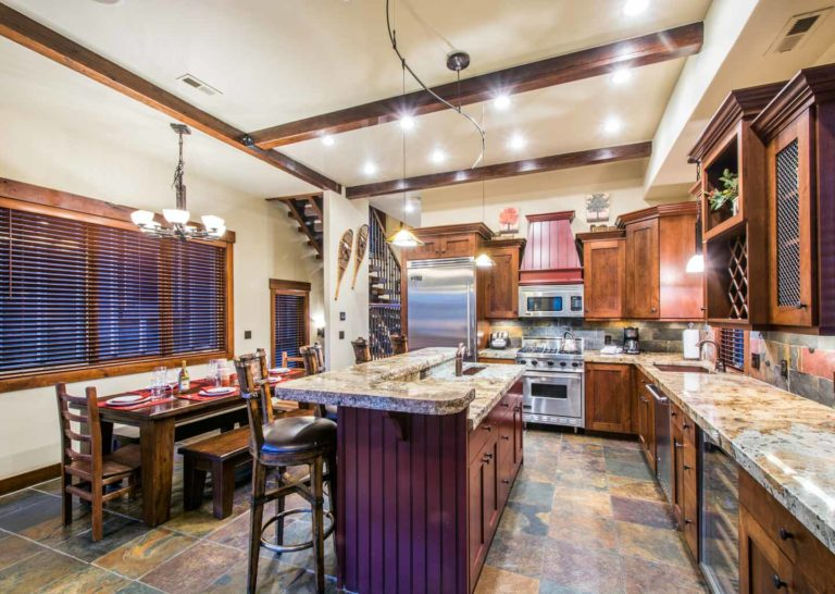 Kitchen at Empire Home in Park City Utah