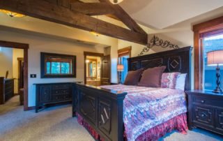 Master Bedroom Suite at Empire Home in Park City Utah
