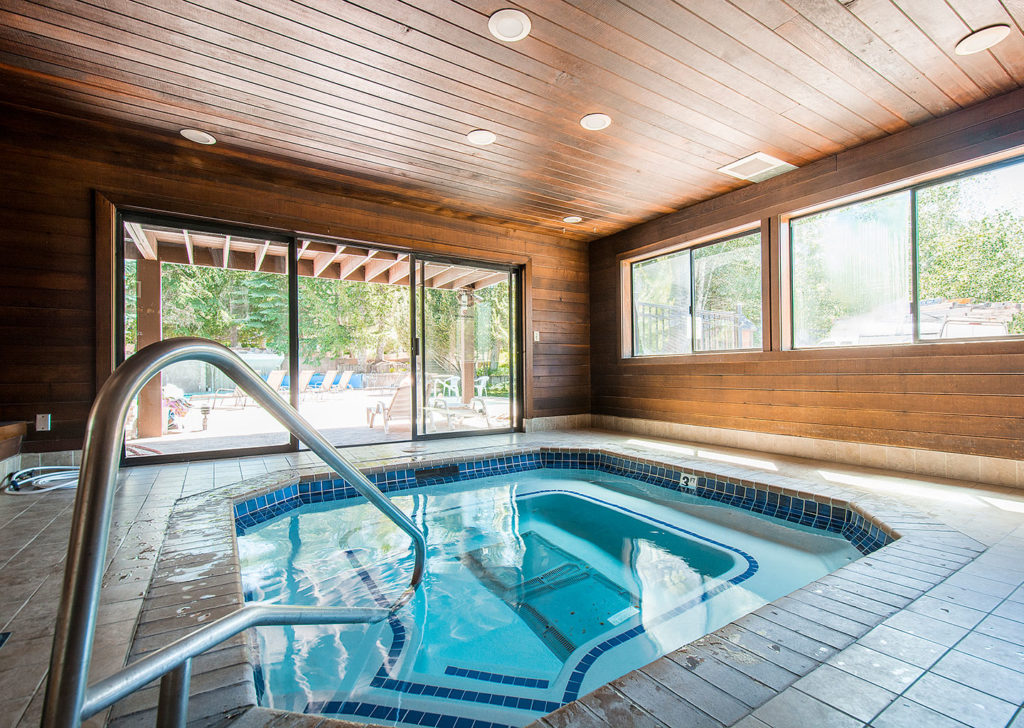 Indoor Hot Tub in the Clubhouse of Red Pine Condominiums in Park City, Utah