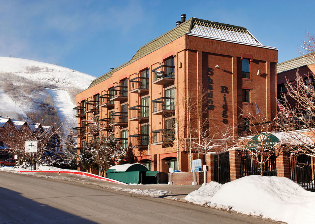 Shadow Ridge Resort Hotel Exterior Winter