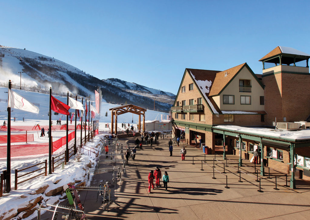 The Loft at the Mountain Village Exterior Winter