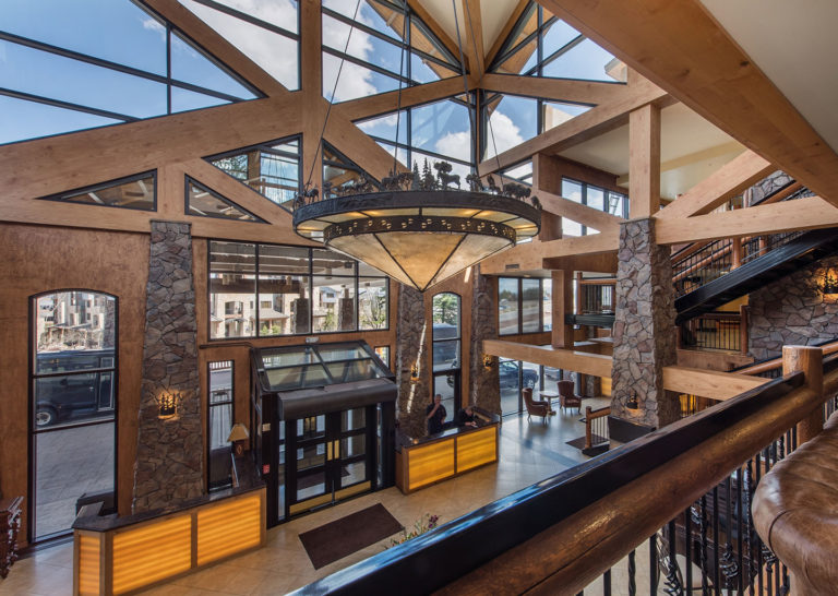 Upstairs Lobby at Westgate Park City