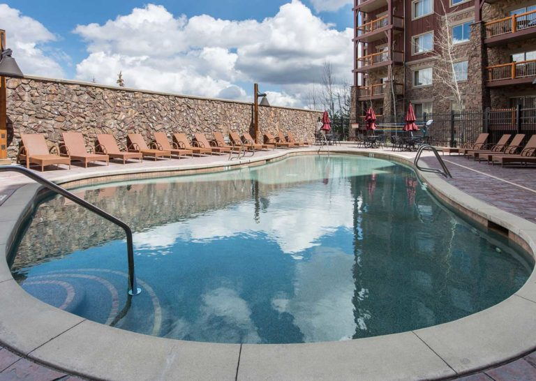 Outdoor Pool at Westgate Park City