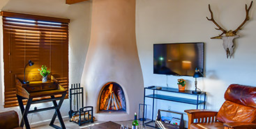 Living Room in Fort Marcy Hotel Suites in Santa Fe New Mexico