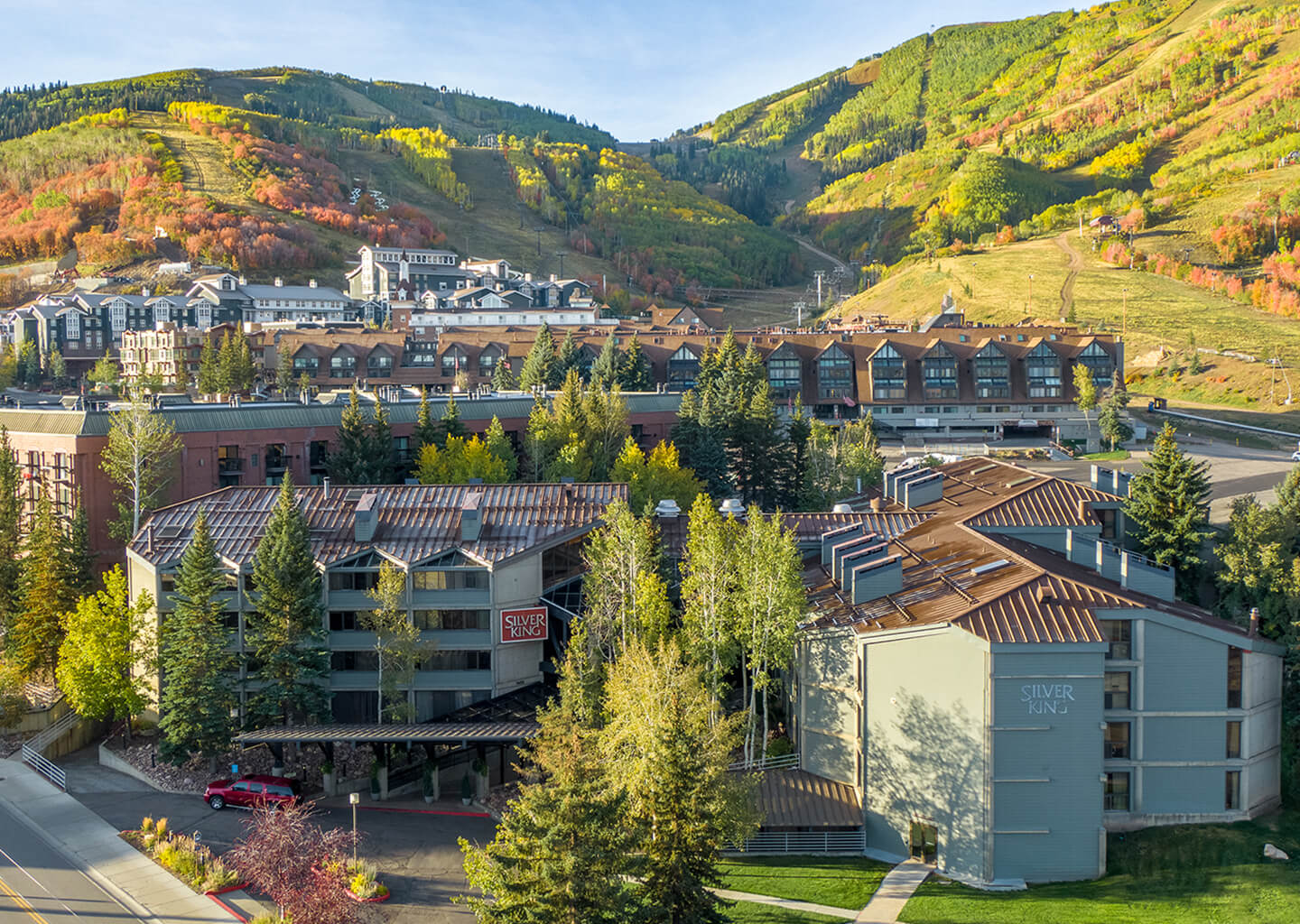 Silver King in Park City on a Golden Summer Afternoon