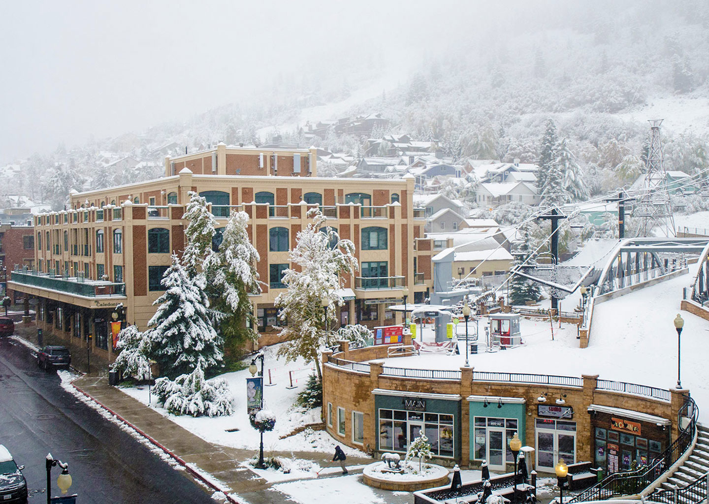 The Caledonian with ski-in ski-out access to Park City Mountain Resort