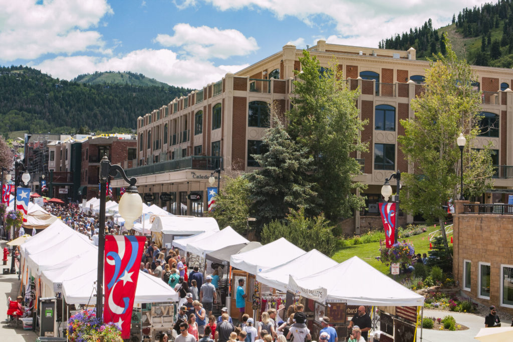 Park Silly Sunday Market on Main Street Park City