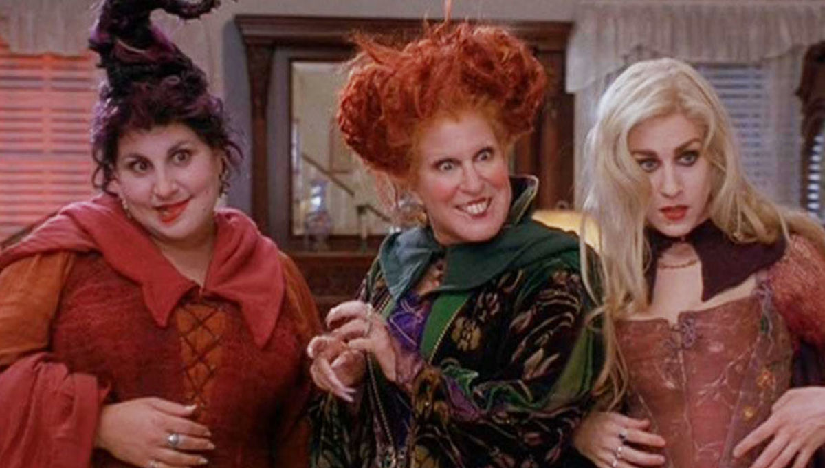 Three Witches from Hocus Pocus