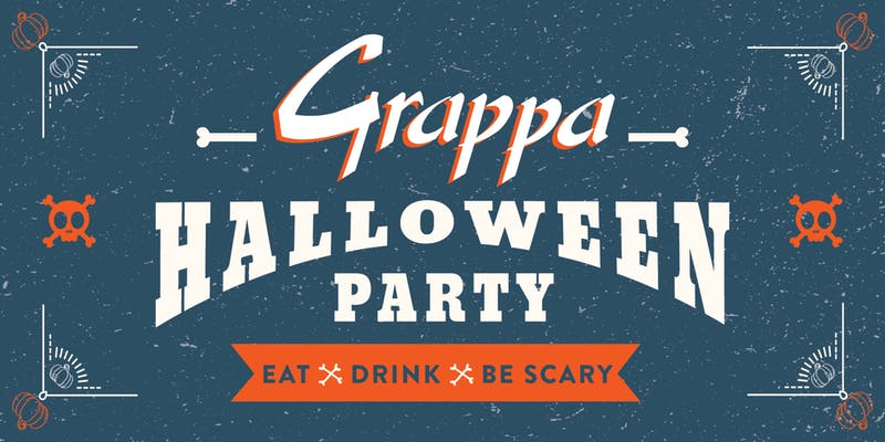 Grappa Halloween Party Logo