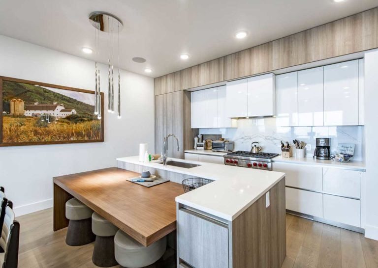 Luxurious, Updated Kitchen at Apex Residences in Park City, Utah