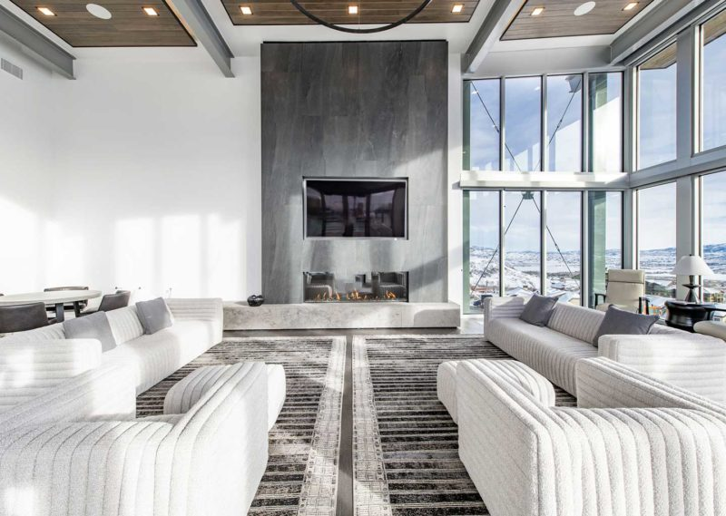 Luxurious Clubhouse at Apex Residences in Canyons Village in Park City Utah