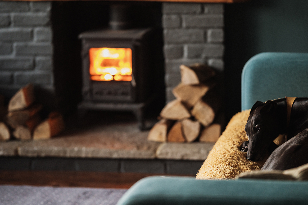 stay indoors by the fire