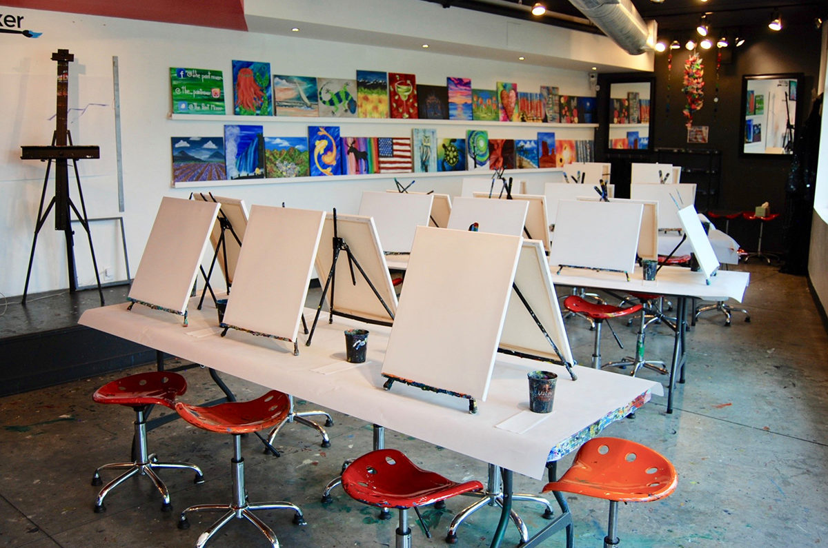 The Paint Mixer Park City - Group Painting Classes