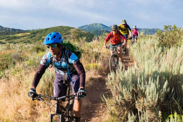 White Pine Touring mountain biking guided tour