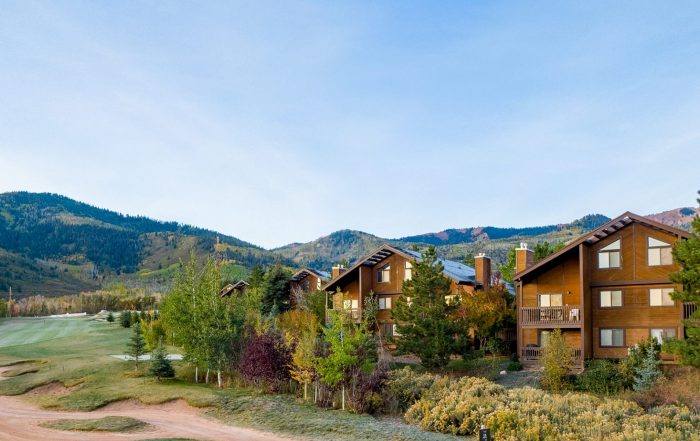 Red Pine Condos in Park City at Twilight