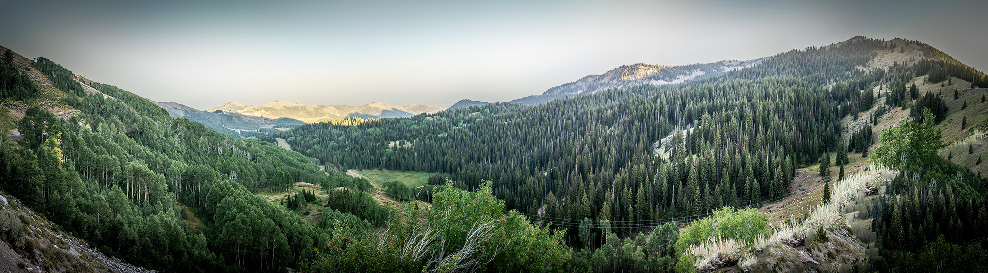 Sweeping Panorama of Park City's Secluded Hiking Trails