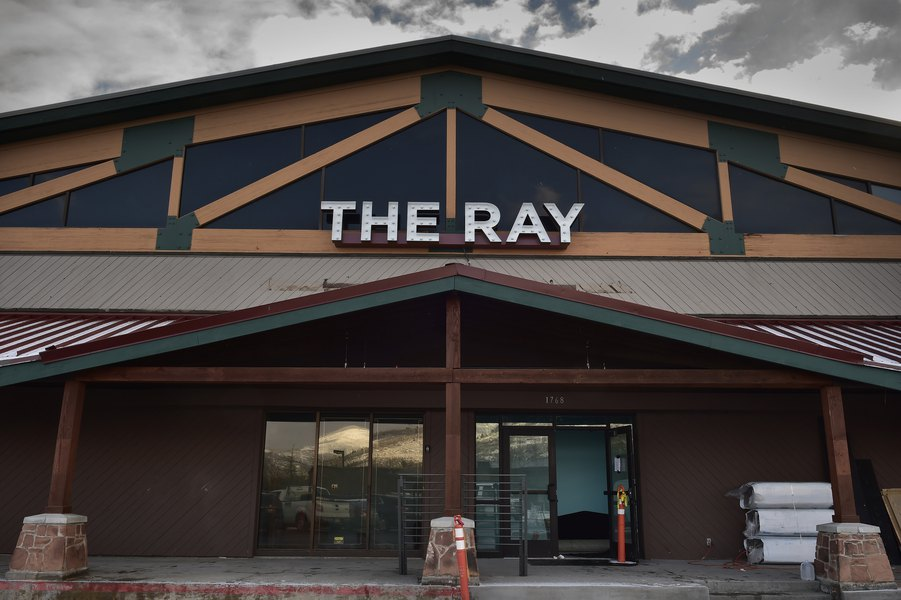 The Ray Theatre exterior in Park City Utah