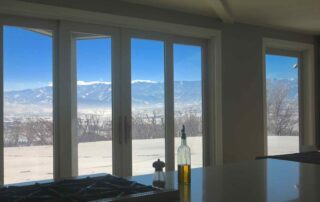 View of Wasatch Mountains From Mindful Cuisine Kitchen
