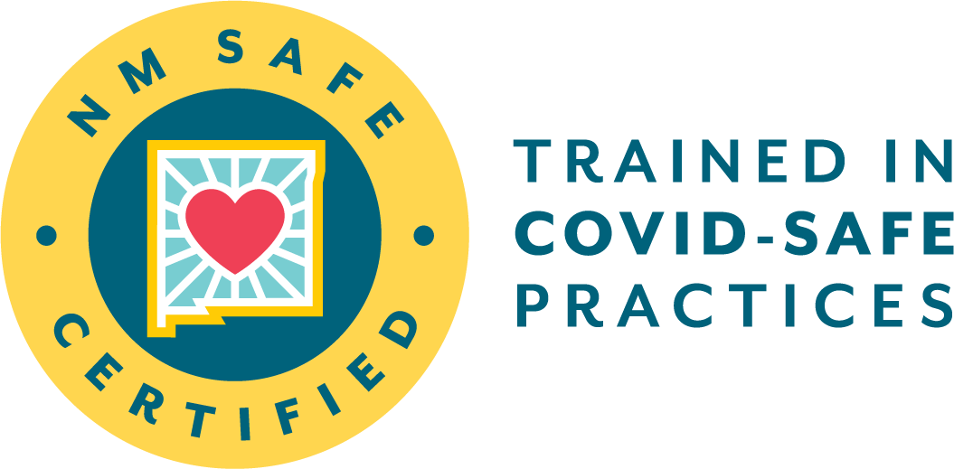New Mexico COVID-19 Safety Certified Seal