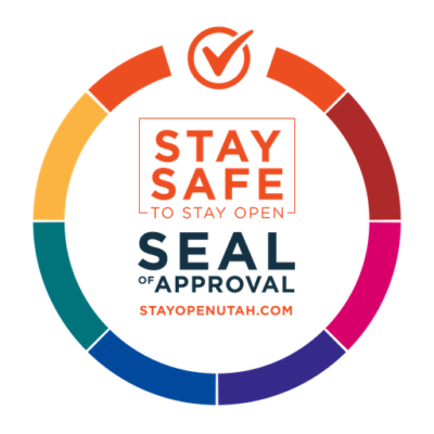 Stay Safe Seal of Approval for Stay Open Utah