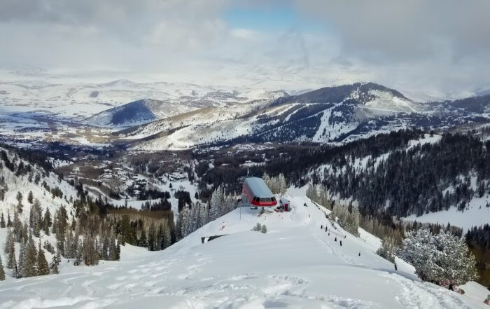 View of Ninety-Nine 90 Lift in Deer Valley Resort