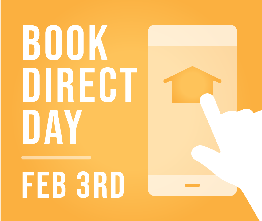 #BookDirect Day Graphic