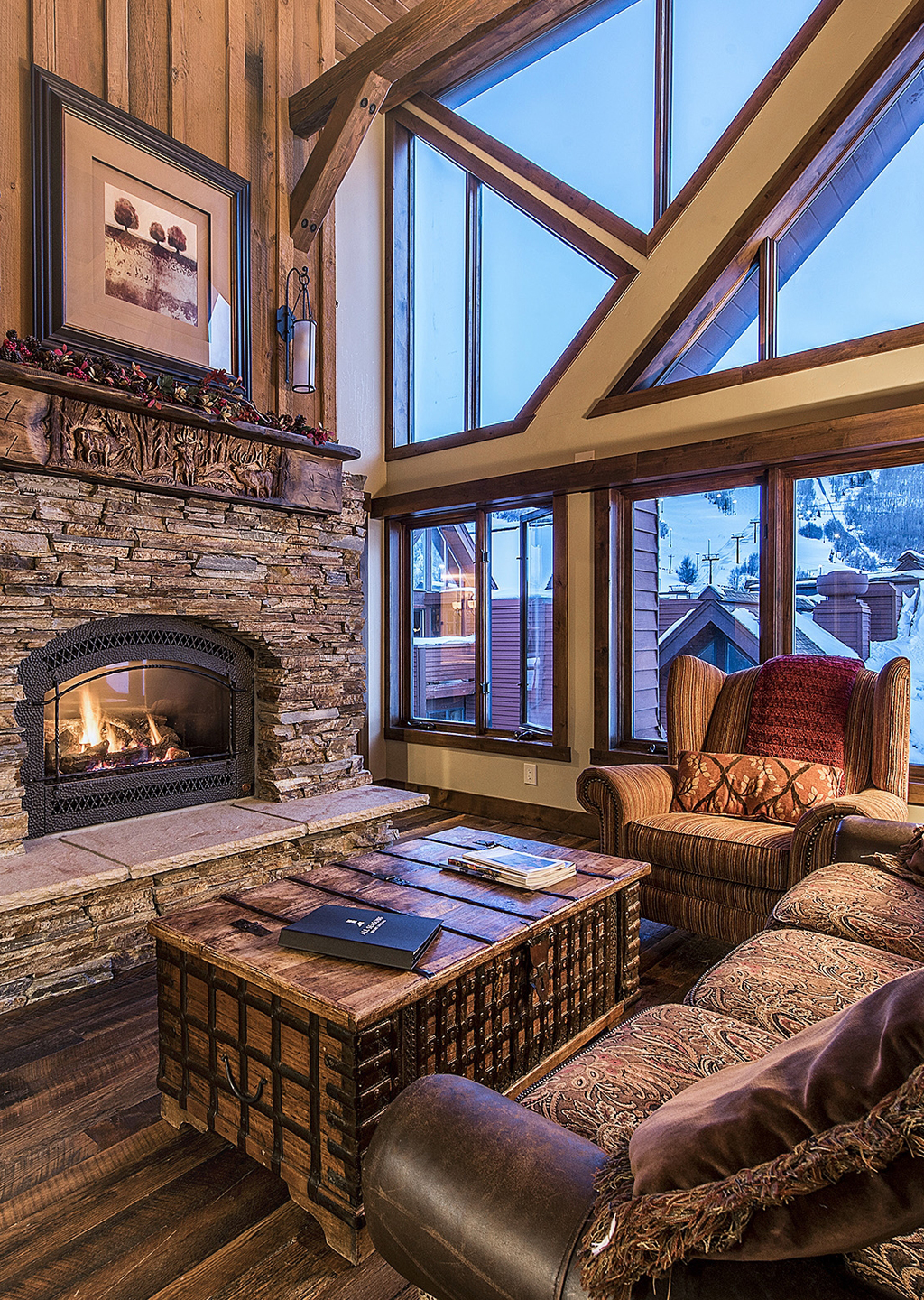 Interior of Penthouse Suite at the Lodge at the Mountain Village in Park City