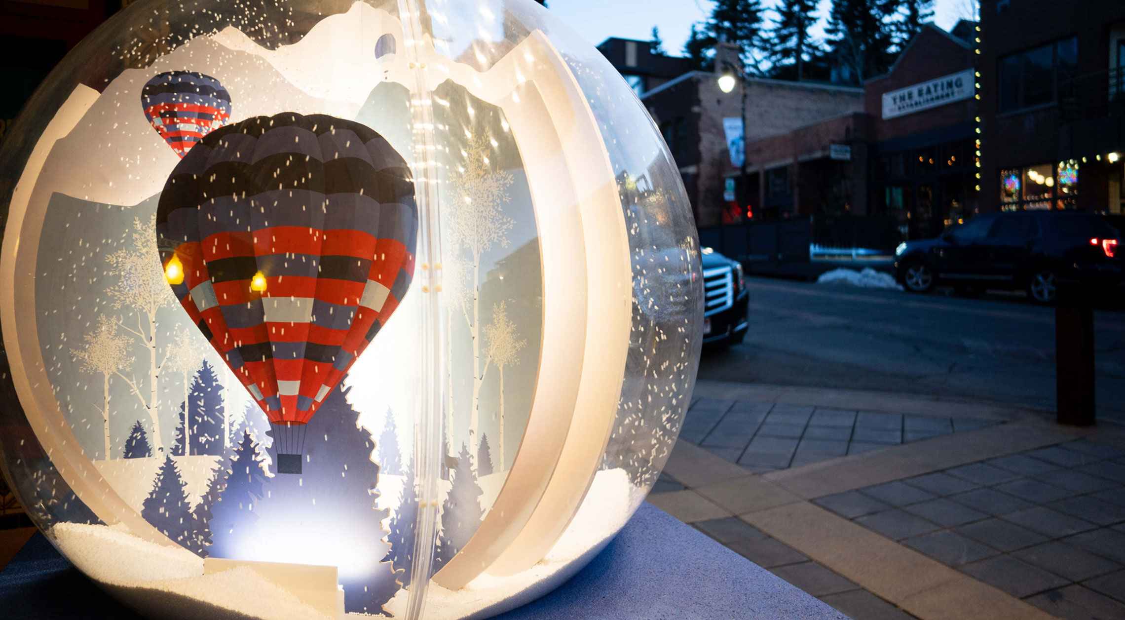 Snow Globe Stroll on Main Street Park City