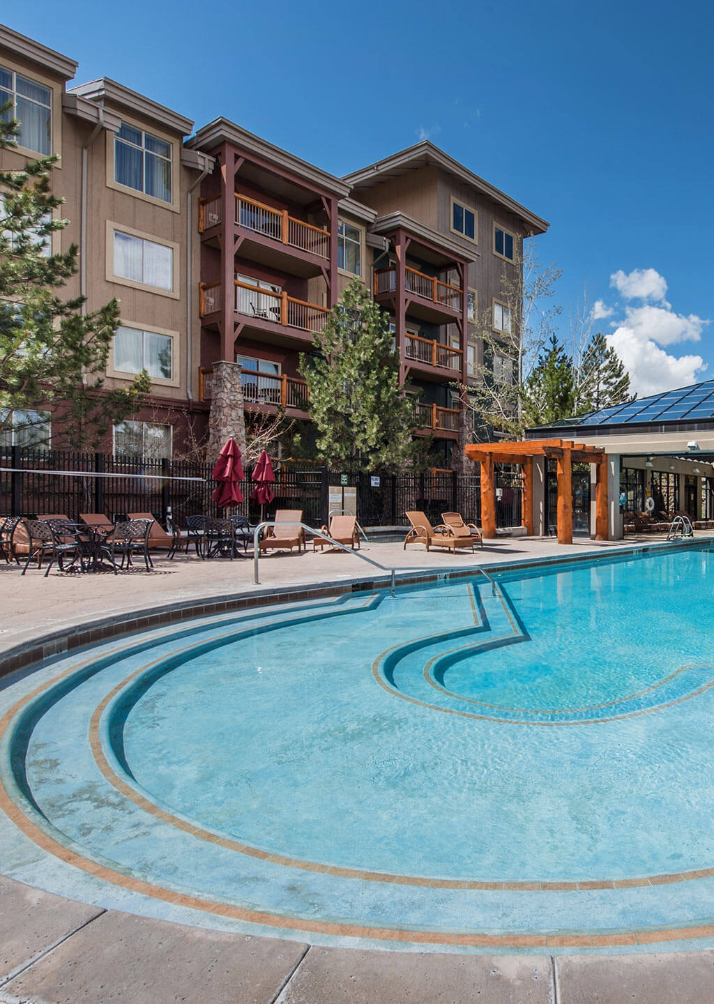 The Majestic Pool at Westgate Park City
