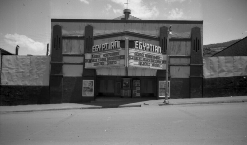 Egyptian Theatre in its Early Days